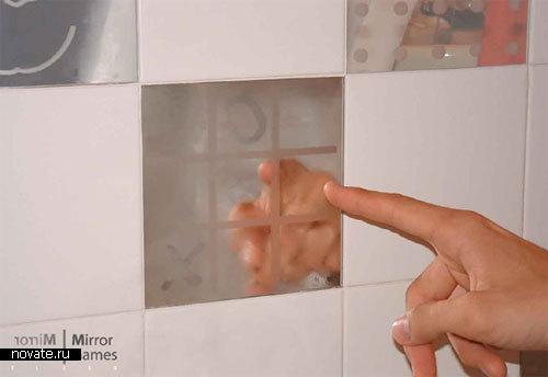 Зеркало, на котором можно играть в игры