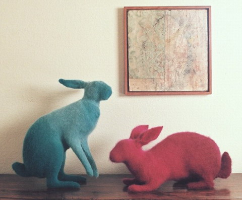 Кролик из ангорской шерсти