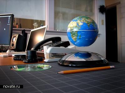 Прототип антигравитационного глобуса