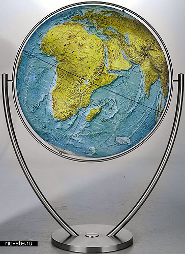 Очень большой глобус
