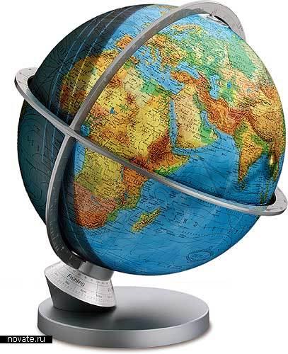 Познавательный глобус
