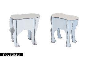 Мебель в виде животных от Ibride