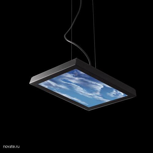 Лампа-телевизор