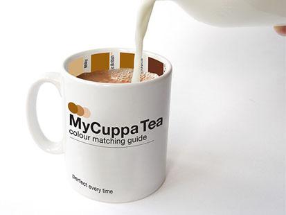 Чашка-гид для кофе или чая