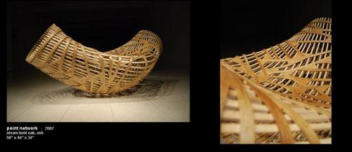 Необычные деревянные стулья