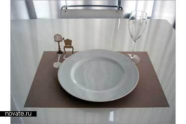 Бумажные подставки под тарелки