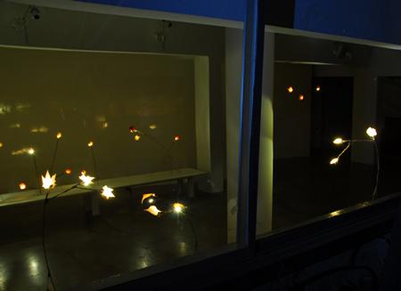 Лампы из осенней листвы