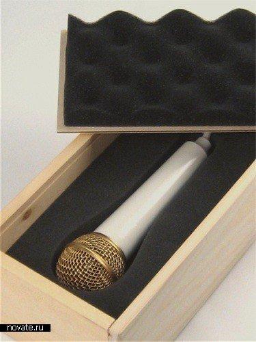 Светильник в виде микрофона