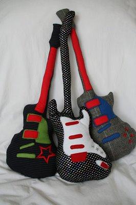Мягкие гитары - подушки