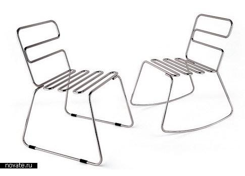 Коллекция мебели из стали