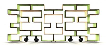 Модульная система стеллажей от Райана Франка