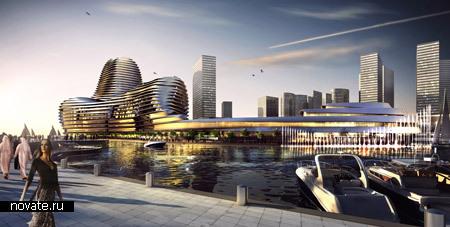 Всемирный Торговый Центр в Абу Даби работы Нормана Фостера