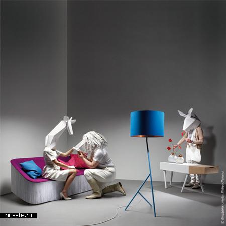 Мебель, идею которой дизайнерам подсказала природа