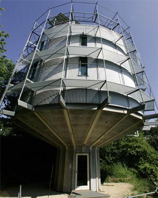 Вращающийся дом в Германии
