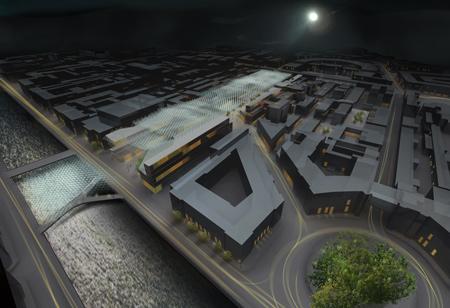 Проект развития района Апраксин Двор от Wilkinson Eyre Architects