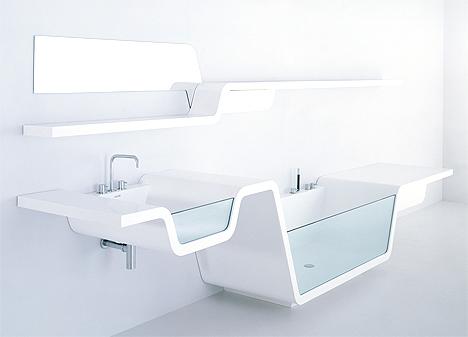 Ванная комната Ebb от компании UsTogether