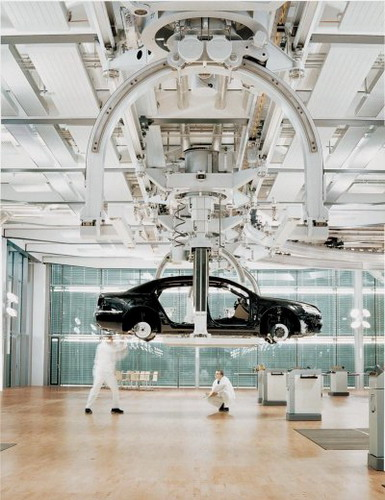 Завод компании Фольксваген