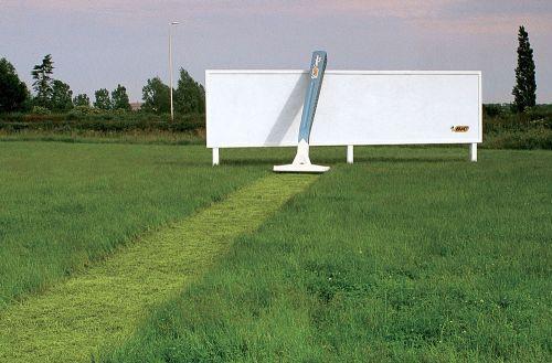 Реклама бритвы bic