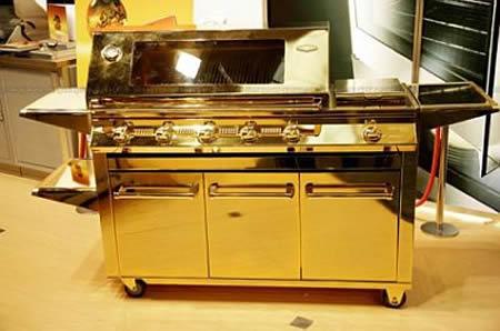 Золотая плита для барбекю