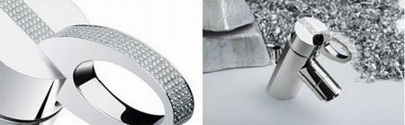 Кран с алмазами