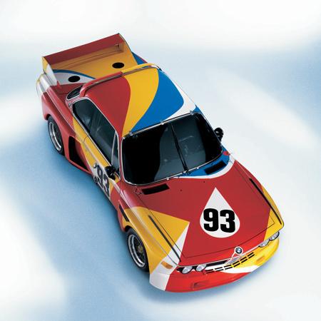 Коллекция BMW Art отражает развитие в автомобилестроении и искусства