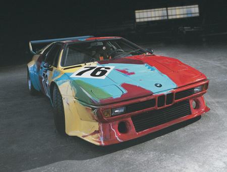 BMW M1 group 4 racing version от Andy Warhol, 1979