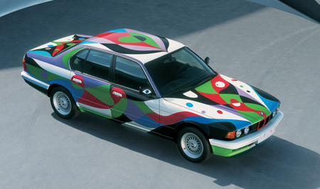 BMW 730i от César Manrique, 1990.