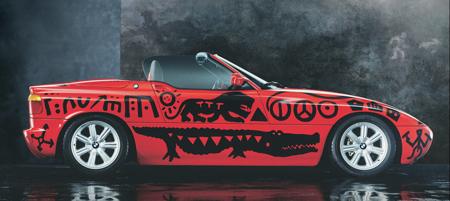 BMW Z1 от A.R Penck, 1991.
