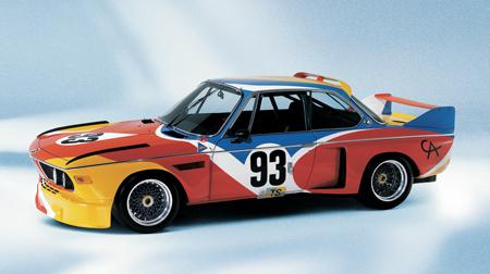 BMW 3.0 CSL от Calder, 1976.
