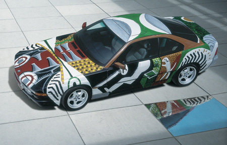 BMW 850 CSi от David Hockney, 1995.