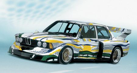 BMW 320i group 5 racing version от Roy Lichtenstein, 1977