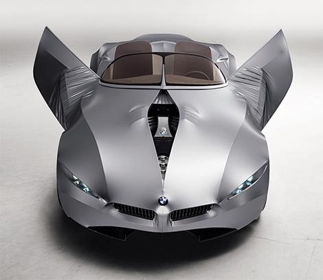 BMW GINA - концепт автомобиля с гнущимися дверьми