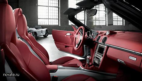 Автомобиль «Boxster RS 60 Spyder» выпущенный ограниченной серией