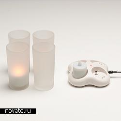 Светильники, имитирующие свечи