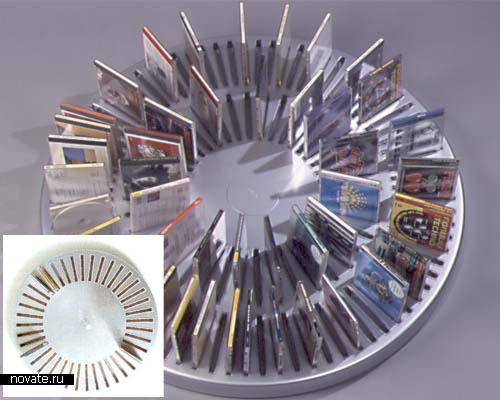 Настенный бокс для 40 компакт-дисков