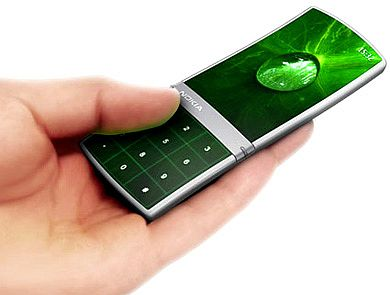 Концепт сотового телефона Nokia Aeon