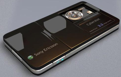 Концепт сотового телефона SonyEricsson