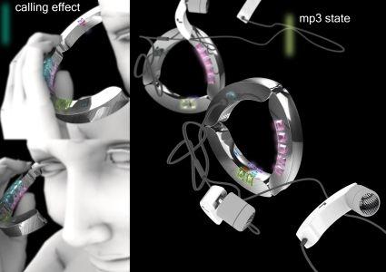 Телефон-браслет со встроенным mp3-плеером