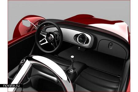 Трехколесный спортивный автомобиль Cirbin V13R