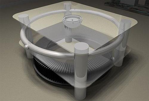 Стол с подставкой для компакт-дисков