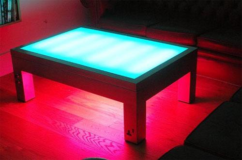 Стол-светильник