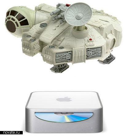 Компьютерный корпус в виде Тысячелетнего Сокола из Звездных Войн