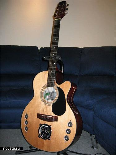 Корпус в виде гитары