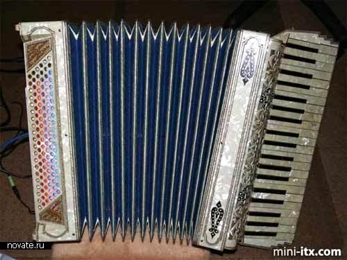 Корпус в виде аккордеона