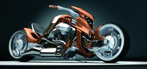 Мотоцикл V-rex. Воплощенная мечта Тима Кэмерона