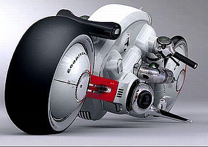 Detonator V4 6.0 - самый странный концепт мотоцикла