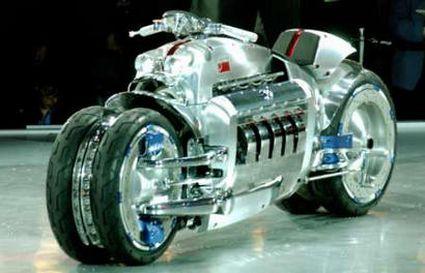 Chrysler Tomahawk - наикрутейший среди мотоциклов