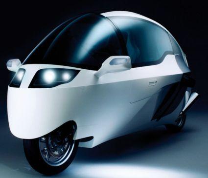 Peraves Monotracer - Авто-мотоцикл. Или Мото-автомобиль. Как угодно.