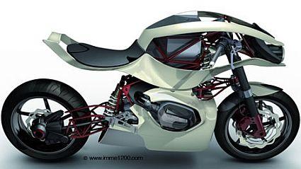 BMW IMME 1200 - любительский проект, получивший признание у самой BMW