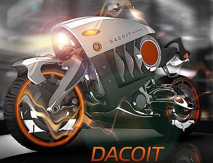 The Dacoit - злобный мотоцикл
